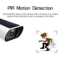 WiFi солнечной 10400mAh Li-Battery ночное видение Безопасность CCTV IP-видео пассивные инфракрасные детекторы движения камеры приложений