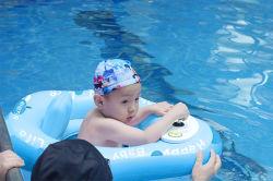 قابل للنفخ منزلق [إيببي] سباحة أطفال كهربائيّة سباحة مع [رموت كنترول] دعم تصنيع حسب الطّلب