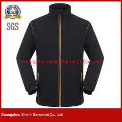 Сотрудники компании для женщин и единообразных куртка, Черный полиэстер полярных (J527)