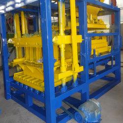 Qt4-25 Construcción hidráulica y materiales de construcción cemento máquina bloquera hueco