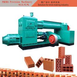 Petite machine à fabriquer des briques en argile extrudeuse
