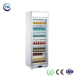 Refroidisseur de boissons commerciales de supermarchés en position verticale bouteille de bière du refroidisseur d'affichage (LG-252DF)