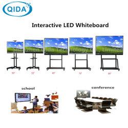 70-дюймовый интерактивный сенсорный монитор рекламы плата HD LCD Smart управление цифровой доски для школ