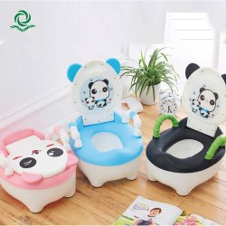 Cartoon Panda Plastic Child Toilet Training onbenullige Baby Closekruk