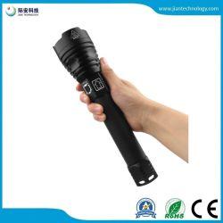 Lampe de poche Xhp90 haute luminosité Affichage de la puissance de charge USB P90 Faire un zoom sur l'Éblouissement lampe de poche