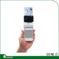 MCR02 이동할 수 있는 카드 판독기 3.5mm 오디오 잭 Ios Adroid 전화 카드 판독기