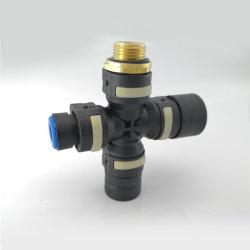 F는 플라스틱 공기 압축기 호스에게 제동 공중 시스템을%s 급속 절단 압축 공기를 넣은 연결기를 타자를 친다