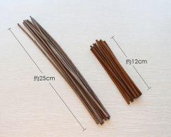 Velas de cera perfumada y difusor de Rattan Sustitución Stick Difusor para el hogar