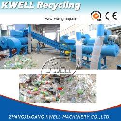 Une grande capacité PE/PP/étiquette de bouteille PET Remover, usine de recyclage de la bouteille en plastique