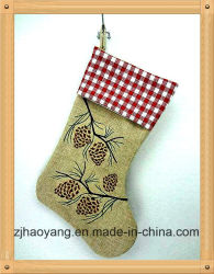 Bonitinha Pinecone design rústico e decoração de estocagem de materiais de estopa