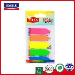 Artículos de papelería y de la serie de Regalos personalizados y autoadhesivo de plástico PET Sticky Notes DH-9602