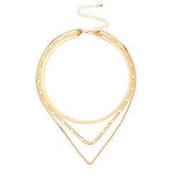 Halsband van de Ketting van de Doos van de Ketting van de Slang van de Lagen van de Juwelen van de manier de Multi