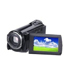 Infrared tiro nocturno e 3 polegadas de tela de toque capacitivo 2880*2160 4K câmera filmadora