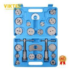Viktec 22PCS Heavy Duty remschijf zuiger remklauw compressor terugspoelen Gereedschapsset en Wind Back-gereedschapsset Automotive-gereedschap