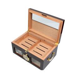 Luxe Fhbiz Grande boîte à cigares en bois à l'intérieur du bac