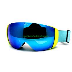 206 Anti-Fog Double Layer сферических линз горнолыжные очки безрамные шлем совместимых снег спортивные очки для мужчин и женщин