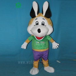 Grande tête de la mascotte de chien Costume Animal Cartoon