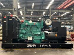 수냉식 3상 50Hz/60Hz 무소음/개방형 산업용 전동 디젤 중국에서 발전기