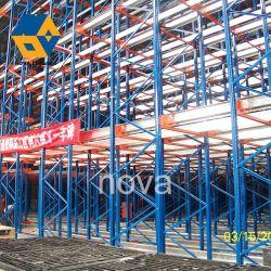 Kundenspezifische Lager Heavy Duty Lagerung Einstellbare Selektive Metall-Stahl-Palette Rack