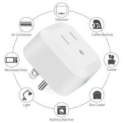 Soporte Inicio y Alexa Compatible Mini 10una clavija de conexión WiFi inteligente de EE.UU.