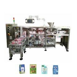 Высокая скорость автоматической замороженные продукты растительного происхождения фруктов креветки Dumpling горизонтальная линейная потока заполнения и герметичность упаковки упаковочные машины с помощью вакуумного устройства