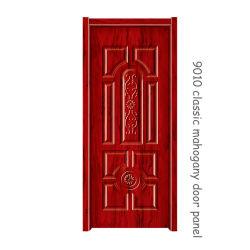 لوحة الباب الماهوجنى الكلاسيكية Melamine Door Skin 07 Red 2150*920*3