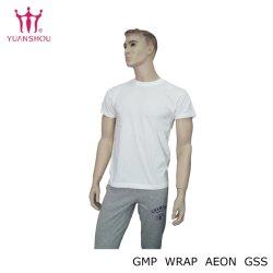 カスタマイズされた綿またはタケまたはポリエステル円形の首のポロシャツグループのブランドからの編まれた人または人のティー作業均一ゴルフデニムのワイシャツ