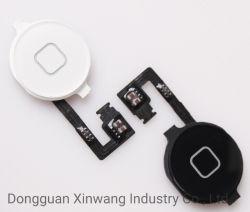 أجزاء الهاتف الخلوي لمفتاح زر القائمة الرئيسية في iPhone 4G مع مجموعة كبل Flex