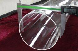 Todos los tamaños de diámetro transparente y opaco Polised tubo cerámico de cristal de cuarzo.