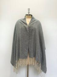 Los colores de varios tejidos Cashmere-Alike mujer bufanda chal/de estilo básico