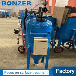 Máquina de sopro exterior BZ800 Pote de jacto de areia molhada para a Chapa de Aço