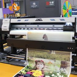 oplosbare Printer van Eco van de Machine van de Druk van de Plotter van 1.8m de Openlucht Digitale Inkjet Flex met Dx7 Dx5 Hoofd Epson
