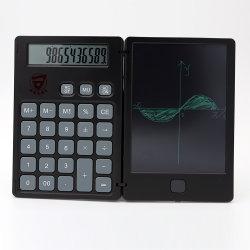 لوحة حاسبة LCD قابلة لليلدغ لوحة الرسم الرقمية اللوحية 12 رقمًا العرض باستخدام وظيفة زر مسح قلم الكتابة