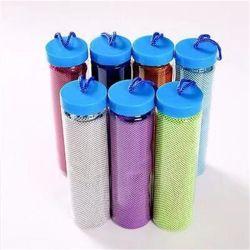 Индивидуальные спортзал пота ткань из микроволокна лед холодной полотенца охлаждения фитнес с ПЭТ бутылки для восстановления энергии и упаковки