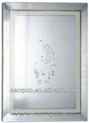 Téléphone mobile carte PCB PCB Pochoir Pochoir CMS de la carte mère Pochoir Laser Pochoir CMS pour montage CI en Chine
