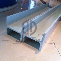 قوة مقاومة الشد العالية FRP I Beam Pultruated Fiberglass I Beam of Building Materials.