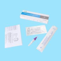 CE desechables médicos aprobados Igg, IGM, Kit de detección de virus de la Enfermedad Infecciosa de antígeno de PCR de casete de prueba de diagnóstico rápido con el hisopo y nasal de tampón de extracción