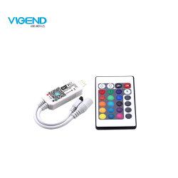 Mini-IR 24 touches Bande LED RGBW Contrôleur WiFi 4CH Télécommande sans fil
