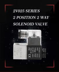 2V025-serie AC220V bedrading solenoïdeklep pneumatische cilinder onderdelen lucht Solenoïdeklep