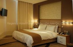 Mobiliario moderno Cama de matrimonio Habitación de Hotel Hotel Juego de Muebles Muebles para uso comercial