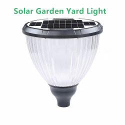 مصباح LED عالي القدرة لتوفير الطاقة 3 أمتار لطريق الحدائق الخارجية إضاءة مواقف السيارات الشمسية مع ضوء LED