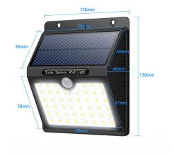 Luz de Segurança Solar Venda quente 46 levou à prova de Luzes do Sensor de Movimento Solar candeeiro de parede super brilhante para a parede exterior
