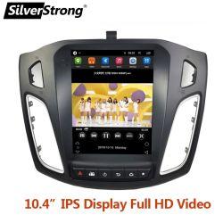 سيلفرسترويد IPS Android 10 تسلا شاشة لمس Android راديو Android بالنسبة إلى مشغل الوسائط المتعددة لنظام تحديد المواقع العالمي للسيارة Car GPS WiFi MEDIA من Ford Focus 3 2012-2017