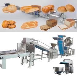La cuisson du pain d'aliments entièrement automatique Making Machine pour Burger miche de pain grillé Hot Dog usine de boulangerie