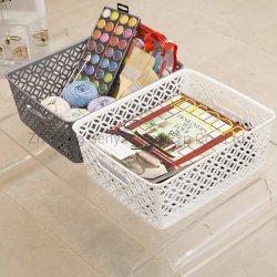Ménage en plastique de l'organiseur PP Livingroom divers panier de stockage