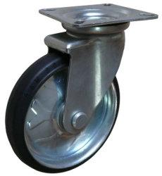 """Wanda Factory Price Black Rubber Tread Wheel 6"""" Workbench /Waste Zwenkwielen van de bak"""