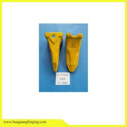 Haste da Ponta dos dentes de caçamba para escavadeira de máquinas de construção do adaptador