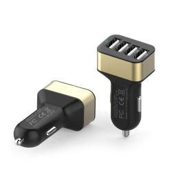 4 USB 포트 차 충전기 빠른 책임 3.0 기술 접합기