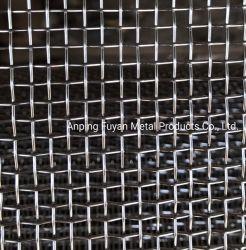 Hoogwaardig 304 316 RVS gekrimpt draadgaasfilter Scherm