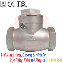 SS316 resistenza alla corrosione valvola di ritegno a foro completo per pompa dell'acqua